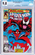 Modern Age (1980-Present):Superhero, Spider-Man Unlimited #1 (Marvel, 1993) CGC NM/MT 9.8 White pages....