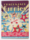 Golden Age (1938-1955):Miscellaneous, Crackajack Funnies #2 (Dell, 1938) Condition: FN-....