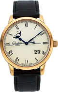 Timepieces:Wristwatch, Glashütte Original Senator Panorama Date Moonphase 100-04-32-15-04, No 0814. ...