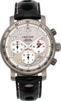 "Timepieces:Wristwatch, Chopard, ""Mille Miglia Chronograph"" Racing Silver Limited Editionof 514/1000pcs Ref. 8915 in Titanium. ..."