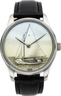 Timepieces:Wristwatch, Vineyard Time Ltd Edition Sailboat Time Only Large Wristwatch. ...