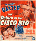 "Movie Posters:Western, The Return of the Cisco Kid (20th Century Fox, 1939). British SixSheet (77.5"" X 87"").. ..."