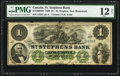 Canadian Currency, St. Stephen, NB- St. Stephen's Bank $1 March 1, 1880 Ch. # 675-20-04-04. ...