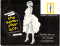 "Movie Posters:Comedy, The Seven Year Itch (20th Century Fox, 1955). Uncut Pressbook (24Pages, 18"" X 14"") with Herald (11.25"" X 17"").. ... (Total: 2 Items)"