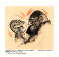 "Movie Posters:Horror, King Kong by David Negron (Paramount, 1976). Original Mixed MediaConcept Artwork (Illustration: 18"" X 16, Art Board: 22"" X..."