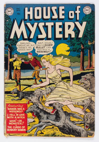House of Mystery #1 (DC, 1952) Condition: GD-