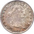 Early Half Dollars, 1803 50C Large 3, Large Reverse Stars, O-103, T-3, R.3, AU53PCGS....