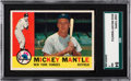 Baseball Cards:Singles (1960-1969), 1960 Topps Mickey Mantle #350 SGC 84 NM 7....