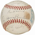 Autographs:Baseballs, 1963 Baltimore Orioles Team Signed Baseball (24 Signatures).. ...