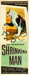 """Movie Posters:Science Fiction, The Incredible Shrinking Man (Universal International, 1957).Insert (14"""" X 36"""") Reynold Brown Artwork.. ..."""