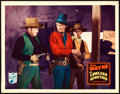 "Movie Posters:Western, The Lawless Nineties (Republic, 1936). Lobby Card (11"" X 14"").. ..."