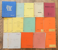 A Zsa Zsa Gabor Collection of Her Scripts from Television Appearances, 1960s-1990s. Seventeen total including (in