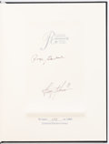 Autographs:Others, Troy Aikman and Roger Staubach Signed Reaching for the StarsHardcover Book.. ...