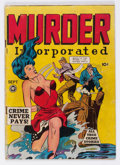 Golden Age (1938-1955):Crime, Murder Incorporated #5 (Fox Features Syndicate, 1948) Condition: GD....