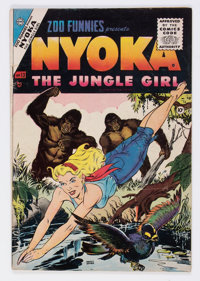 Zoo Funnies #13 (Charlton, 1955) Condition: VG+