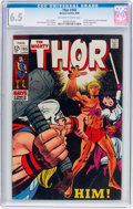 Silver Age (1956-1969):Superhero, Thor #165 (Marvel, 1969) CGC FN+ 6.5 Off-white to white pages....