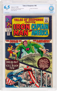 Tales of Suspense #62 (Marvel, 1965) CBCS FN+ 6.5 White pages