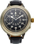 Timepieces:Pocket (post 1900), Swiss Oversize 56 mm Wristwatch Conversion. ... (Total: 0 Items)