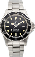 "Timepieces:Wristwatch, Rolex, Ref. 1665, Sea-Dweller ""Great White"", circa 1979. ..."