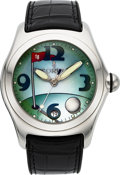 Timepieces:Wristwatch, Corum Boutique Bubble Golf Watch. ...