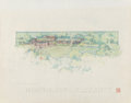 Fine Art - Work on Paper, Frank Lloyd Wright (American, 1867-1959). Drawings andRenderings of the Mr. & Mrs. A. D. Barton House (twelveworks), 1... (Total: 12 Items)
