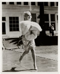 """Movie/TV Memorabilia:Photos, A Marilyn Monroe-Related Group of Black and White Film Stills from """"Some Like It Hot.""""... (Total: 18 )"""