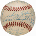 Autographs:Baseballs, 1951 St. Louis Cardinals Team Signed Baseball.. ...