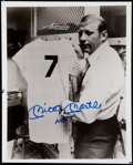 "Autographs:Photos, Mickey Mantle ""No. 7"" Signed Photo.. ..."