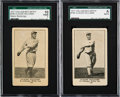 Baseball Cards:Lots, 1917 E135 Collins-McCarthy Claude Williams #190 Pair (2). ...