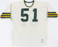 Football Collectibles:Uniforms, 1976 Jim Gueno Game Worn Green Bay Packers Road Jersey. . ...