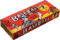 "Baseball Cards:Unopened Packs/Display Boxes, 1961 Nu-Cards ""Baseball Scoops"" 5-Cent Box With 24 Unopened Packs...."