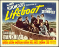 """Movie Posters:Hitchcock, Lifeboat (20th Century Fox, 1944). Title Lobby Card (11"""" X 14"""")....."""