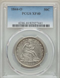 Seated Half Dollars, 1844-O 50C XF40 PCGS. WB-101, Die Pair 6, R.6. Ex: Dick Osburn Collection. Very scarce in this late die state, with cracks ...