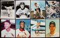 Autographs:Photos, Baseball Greats Signed Photo Lot of 15.. ...