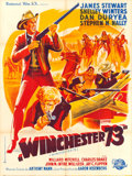 "Movie Posters:Western, Winchester '73 (Universal International, 1950). French Grande (47"" X 63"").. ..."