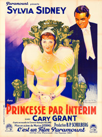 "Thirty Day Princess (Paramount, 1934). French Grande (47"" X 63"") Jacques Bonneau Artwork"