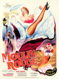 "Movie Posters:Drama, Moulin Rouge (Paris Film, 1953). French Grande (47"" X 63"").. ..."