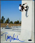 Autographs:Photos, Tony Hawk Signed Photograph. . ...