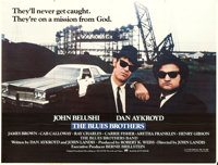 "The Blues Brothers (Universal, 1980). Subway (45"" X 59"")"