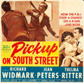 "Movie Posters:Film Noir, Pickup on South Street (20th Century Fox, 1953). Six Sheet (80"" X78"""").. ..."