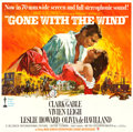 "Movie Posters:Academy Award Winners, Gone with the Wind (MGM, R-1967). Six Sheet (80"" X 80"") Howard Terpning Artwork.. ..."