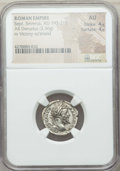 Ancients:Ancient Lots , Ancients: ANCIENT LOTS. Septimius Severus (AD 193-211). Lot of two(2) AR denarii. NGC XF-AU.... (Total: 2 coins)