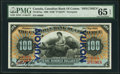 Canadian Currency, Toronto, ON- The Canadian Bank of Commerce $100 May 2, 1898 Ch. #75-14-57as Yukon Overprint Specimen.. ...