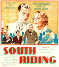 "Movie Posters:Drama, South Riding (United Artists, 1938). British Six Sheet (78"" X 81"").. ..."