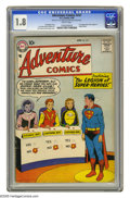 Silver Age (1956-1969):Superhero, Adventure Comics #247 (DC, 1958) CGC GD- 1.8 Brittle pages. First appearance of the Legion of Super-Heroes. First appearance...