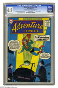 Silver Age (1956-1969):Superhero, Adventure Comics #256 (DC, 1959) CGC FN+ 6.5 Light tan to off-white pages. Origin of Green Arrow. Curt Swan and Stan Kaye co...