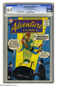Adventure Comics #256 (DC, 1959) CGC FN+ 6.5 Light tan to off-white pages. Origin of Green Arrow. Curt Swan and Stan Kay...