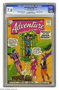 Silver Age (1956-1969):Superhero, Adventure Comics #267 (DC, 1959) CGC FN/VF 7.0 Tan to off-white pages. Second appearance of the Legion of Super-Heroes. Star...