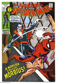 The Amazing Spider-Man #101 (Marvel, 1971) Condition: VF. First appearance of Morbius. The Lizard also appears. Gil Kane...