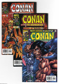 Bronze Age (1970-1979):Miscellaneous, Conan the Barbarian Group (Marvel, 1976-98) Condition: Average NM+.This group consists of 13 comics: #67, 75, 92, 93, 95, 9... (13Comic Books)